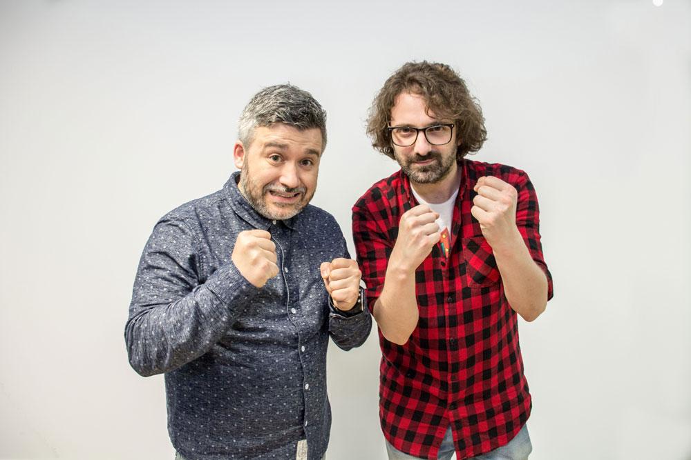 Marcos Pereiro e Víctor Grande