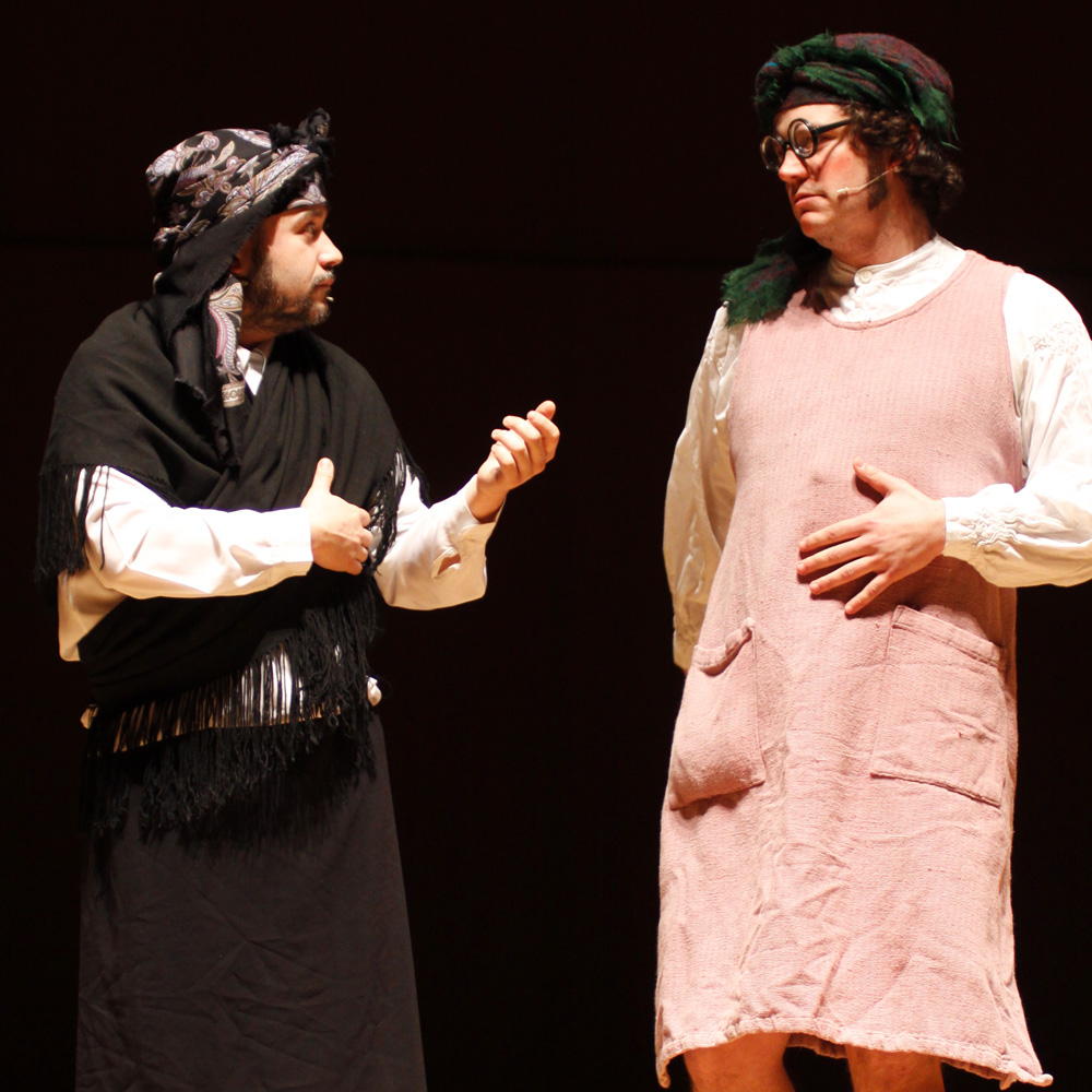 Actuación de Mucha e Nucha, as Cantareiras de Ardebullo