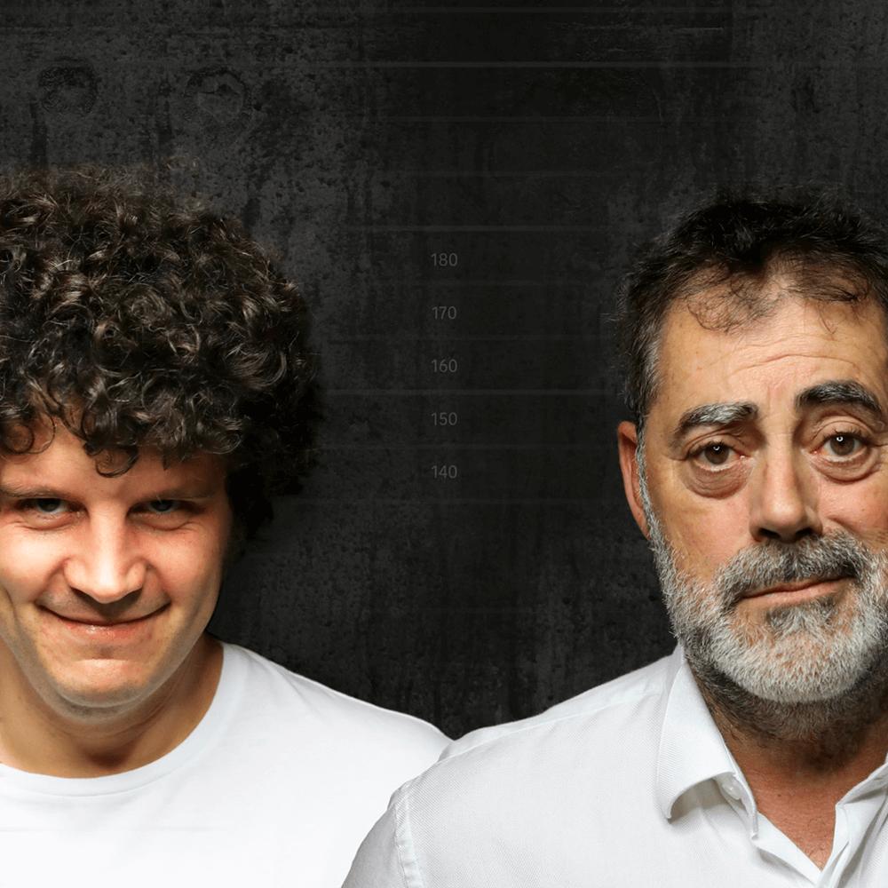Touriñán e Carlos Blanco en Somos Criminais